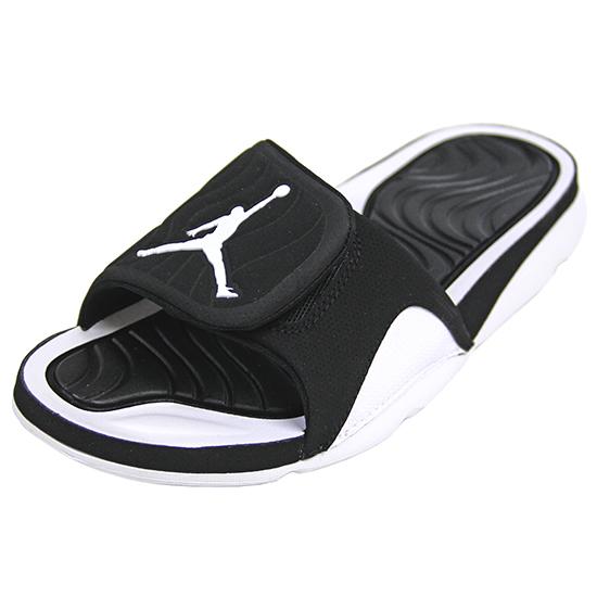 2015 Jordan Hydro Sandal Black White